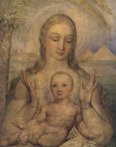 Madonna con bambino di William Blake