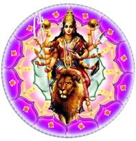 Shri Durga - chakra del Cuore centro