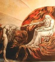 Dio giudica Adamo - William Blake