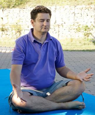 yogi che medita