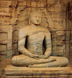 Shri Lanka statua di Buddha