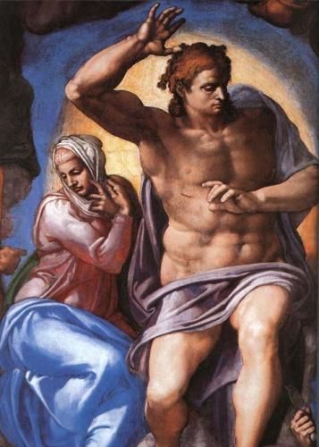 Cristo e Madre Maria