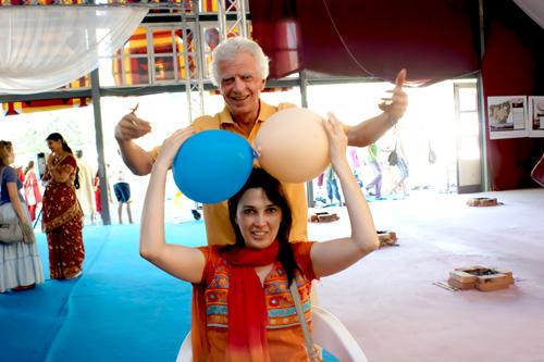I palloncini dell'ego e del superego evidenziati