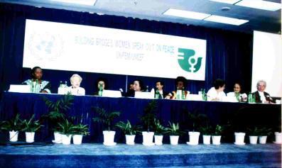 Shri Mataji alla Conferenza Mondiale Della Donna 1995