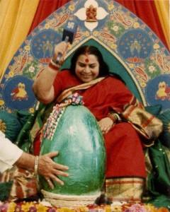 Shri Mataji a Pasqua