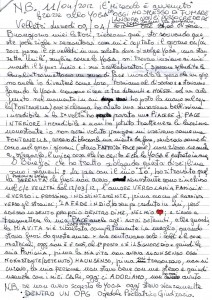 lettera di Bruno parte 1