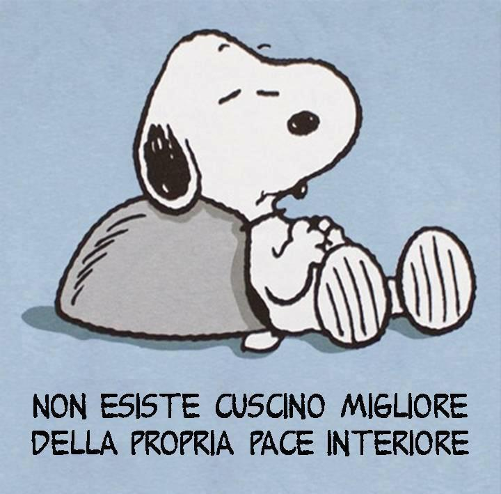 Il dolcissimo Snoopy-