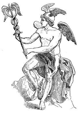 Mercurio e il caduceo